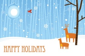 Canadian Cancer Society Holiday Cards