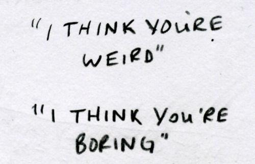 boring people. boring people