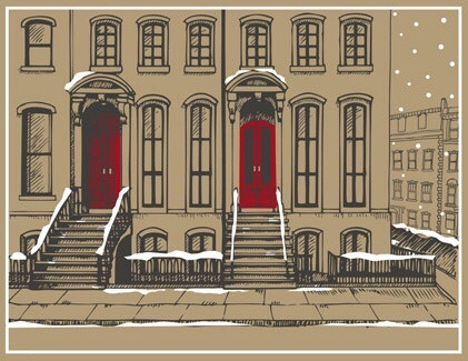 Winter Brownstone