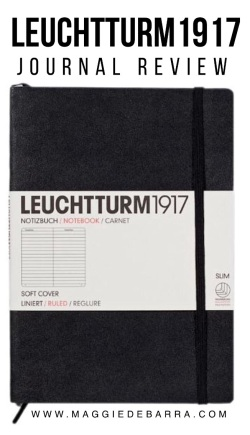 Leuchtturm 1917 Journal Review | Paper Clips by Maggie de Barra